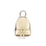 MICHAEL MICHAEL KORS Rhea Zip Small Crossbody Backpack - Gold