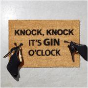 Gin O'Clock Doormat