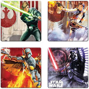 Star Wars Unleashed Artwork Coasters (Pack of 4)