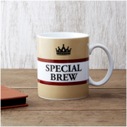 Special Brew Mug - Brown