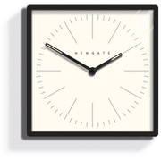 Newgate Mr. Robinson Wall Clock - Matte Black