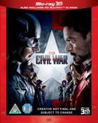 Captain America: Civil War 3D (Includes 2D Version)