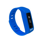 Xtreme Cables Xfit Bluetooth Water Resistant Fitness Tracker and Watch (Including App) - Blue