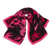 McQ Alexander McQueen Women's Swallow Swarm Scarf - Pink