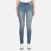Cheap Monday Women's 'Second Skin' Jeans - Offset Blue