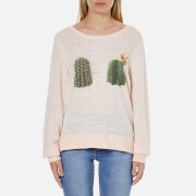 Wildfox Women's Don't Touch Jumper - Arizona Blush