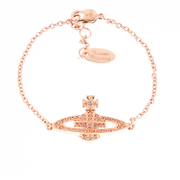 Vivienne Westwood Jewellery Women's Mini Bas Relief Bracelet - Silk Crystals