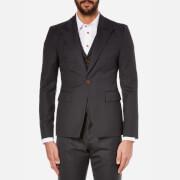 Vivienne Westwood MAN Men's Wool Waistcoat and Suit Jacket - Smoky Black