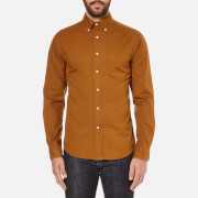GANT Rugger Men's Dreamy Oxford Garment Dyed Shirt - Toffee