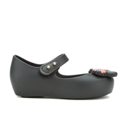 Mini Melissa Toddlers' Ultragirl Minnie Mouse 16 Ballet Flats - Black