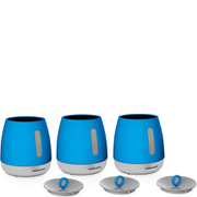Morphy Richards 971365 Chroma Set of 3 Canisters - Blue