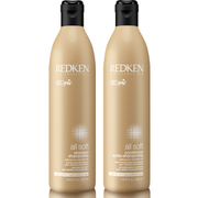Redken All Soft Shampoo & Conditioner Bundle 500ml