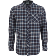 Craghoppers Men's Brigden Long Sleeve Shirt - Storm Navy Check