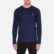 Polo Ralph Lauren Men's Long Sleeve Crew T-Shirt - Cruise Navy