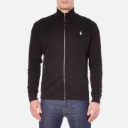 Polo Ralph Lauren Men's Full Zip French Rib Knitted Jumper - Polo Black