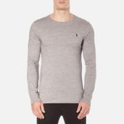 Polo Ralph Lauren Men's Long Sleeve Crew Neck Custom Fit T-Shirt - Dark Vintage
