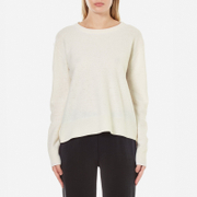 Samsoe & Samsoe Women's Albi O Neck Jumper - Clear Cream