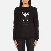 Karl Lagerfeld Women's Koctail Karl Sweatshirt - Black