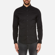 Michael Kors Men's Slim Long Sleeve Shirt - Black