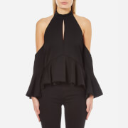 C/MEO COLLECTIVE Women's Too Close Top - Black