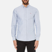 Maison Kitsuné Men's Classic Oxford Shirt - Navy
