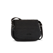 Kipling Women's Earthbeat Medium Cross Body Bag - Dazzling Black