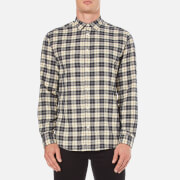 Selected Homme Men's Wolasse Long Sleeve Shirt - Papyrus Check