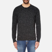 Universal Works Men's Loose Fisherman Jumper - Charcoal