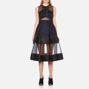 Three Floor Women's Lucid Dreams Dress - Black/Midnight Blue