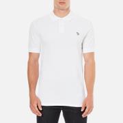 PS by Paul Smith Men's Regular Fit Zebra Polo Shirt - White