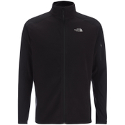 The North Face Men's Glacier Delta Full Zip Jumper - TNF Black