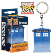Doctor Who Materialising Tardis Pop! Keychain