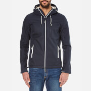 Superdry Men's Hooded Windtrekker Coat - Eclipse Navy/Ecru
