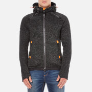 Superdry Men's Storm Double Zip Hoody - Gritty Black