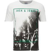 Jack & Jones Men's Originals Coffer T-Shirt - Cloud Dancer/Purple
