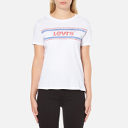 Levi's Women's Vintage Perfect T-Shirt - Stripe White
