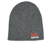 Superdry Men's Windhiker Embroidery Beanie Hat - Coal Grey Twist
