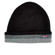 Superdry Men's Windhiker Embroidery Beanie Hat - Black