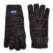 Superdry Men's Super Cable Gloves - Charcoal Twist