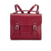 The Cambridge Satchel Company Women's Barrel Backpack - Rhubarb Red