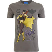 DC Bombshells Mens Batgirl T-Shirt - Grijs