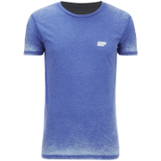 Camiseta Burnout - Azul