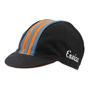 Santini Eroica California Cotton Race Cap - Black