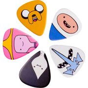 Access All Areas Adventure Time Characters Guitar Plectrums (Set of 5)