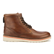 Superdry Men's Stirling Saddle Boots - Saddle Brown