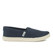 TOMS Kids' Seasonal Classics Slip-On Pumps - Navy