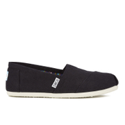 TOMS Women's Core Classics Slip-On Pumps - Black
