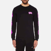 Billionaire Boys Club Men's Helmet Print Long Sleeve T-Shirt - Black
