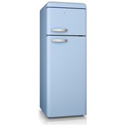 Swan SR11010BLN Retro Top Mounted Fridge Freezer - Blue