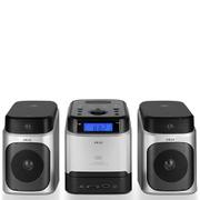 Akai A60002 CD Micro Hi-Fi System - Metallic